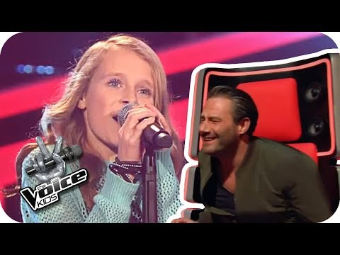 Emilia - Big Big World (Sarah) | The Voice Kids 2017 (Germany) | Blind Auditions | SAT.1