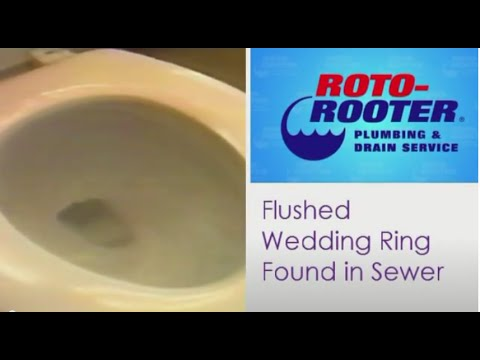 Ring Fell Down The Kitchen Sink