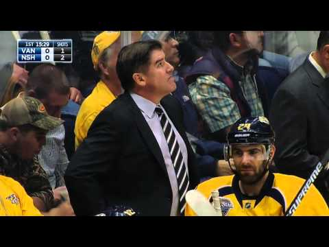 NHL 15/16, RS: Vancouver Canucks - Nashville Predators