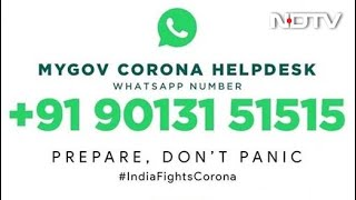 MyGov Corona Helpdesk Launched on WhatsApp to Provide Coronavirus Information