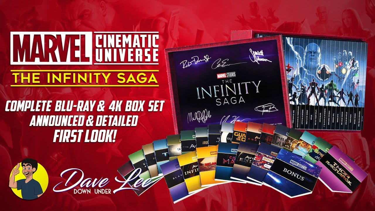 Image result for infinity saga collectors edition