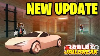 NEW ESCAPE UPDATE!!! Roblox Jailbreak NEW PRISON SEWER ESCAPE! | 🔴 Roblox Jailbreak LIVE