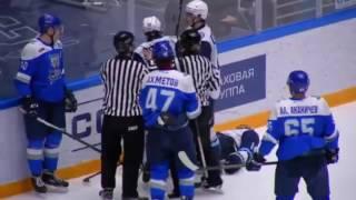 "HC ""Snow bars"" (Astana) — HC ""Siberian Snipers"" (Novosibirsk oblast) — 2:5 (0:1, 2:2, 0:2)"
