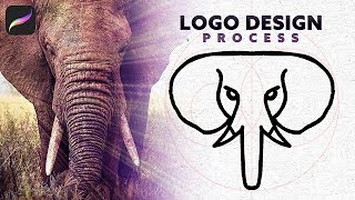 How To Make An Animal LOGO Concept Using Procreate