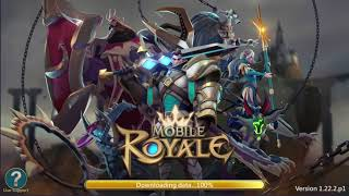 Mobile Royale MMORPG - Build a Strategy for Battle - My first few minutes in game screenshot 5