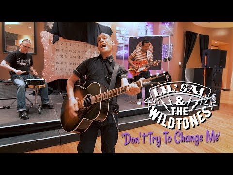 'Don't Try To Change Me' Lil Sal & The Wildtones VIVA LAS VEGAS (bopflix sessions) BOPFLIX