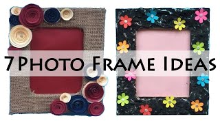 DIY Photo Frame Ideas | Picture Frame Ideas | Photo frame Making At Home Video