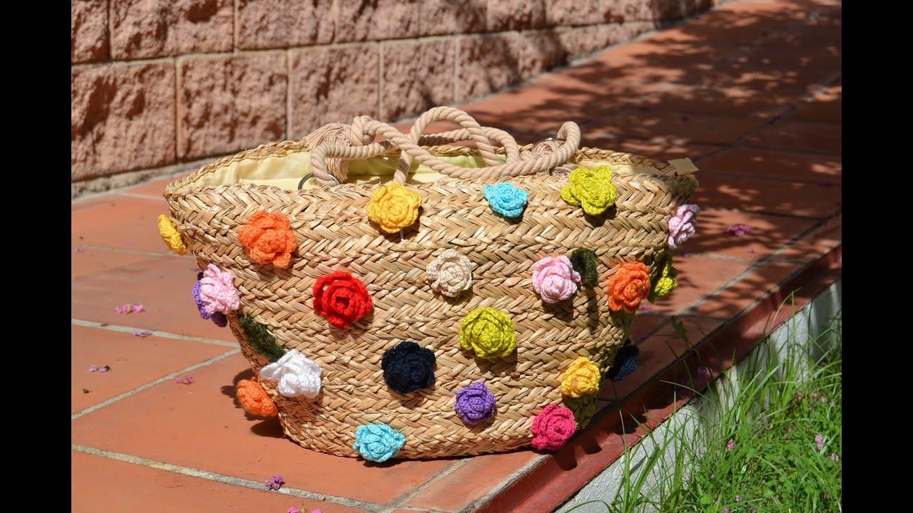 Resultado de imagen de decorar con flores a crochet