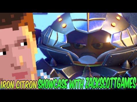 PvZ Garden Warfare 2: IRON CITRON SHOWCASE With ZACKSCOTTGAMES! - Gameplay