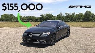 Here's Why The Mercedes CL63 AMG Was Worth $155,000 *REVIEW*