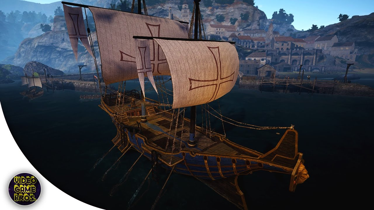 Black Desert Online - Epheria Sailboat Crafting Guide