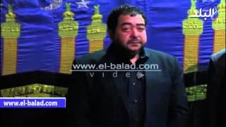بالفيديو و الصور.. هنيدي والإبياري وجلال يؤدوون واجب العزاء في والد الفنان طارق عبدالعزيز