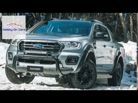 2019 Ford Ranger Wildtrak X first look.Ford Australia