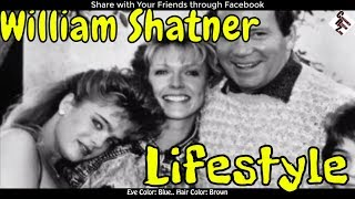 William Shatner Unknown Lifestyle || Family | Girlfriends | Net Worth | Unknown Facts | Scandals ||