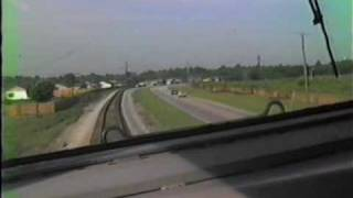 AMTRAK CAB RIDE F40PH  SANFORD, FL 1986