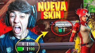 THE LUCK OF MY LIFE WITH THE NEW LEGENDARY SKIN IN FORTNITE: Battle Royale!! - Agustin51