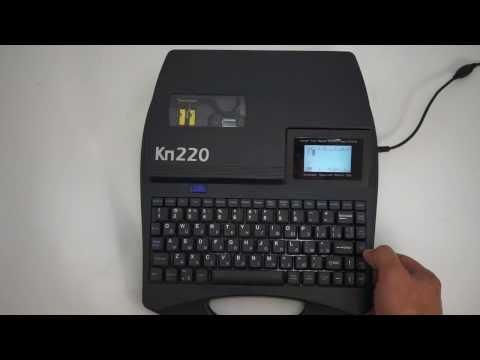 Кабельный принтер Кп220: печать неклеевых вставок на пластиковом профиле