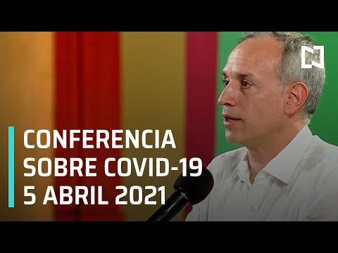 Informe Diario Covid-19 en México - 5 abril 2021