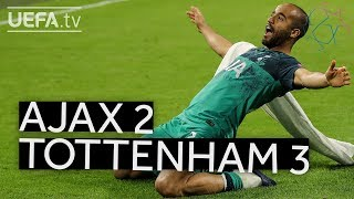 AJAX 2-3 TOTTENHAM #UCL HIGHLIGHTS