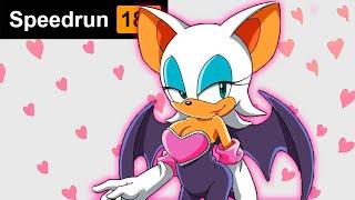 Rouge the Bat Google Speedrun