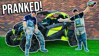 Kendall Gray RIDES IN 230HP CAN-AM X3! *KIDNAPPED*