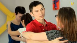 """Танцуй-уроки танцев на UTV"".Урок по Сальсе!"