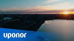 Uponor Barrier PLUS -vesijohtoputki saastuneelle maaperälle