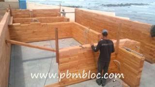 Construction PBM bloc resto casablanca .wmv