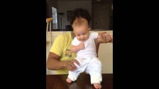 UFC 6 Months old baby training MMA