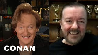 #CONAN: Ricky Gervais Full Interview - CONAN on TBS