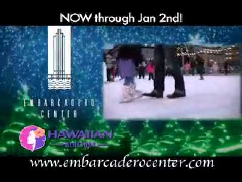Holiday Ice Rink at the Embarcadero Center Promo 3
