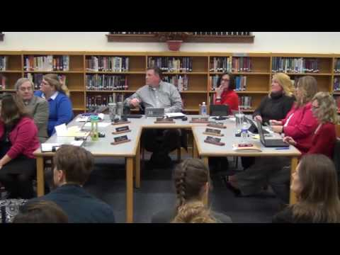 November 28th, 2016 Holland Board of Education Meeting