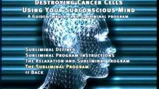 Destroying Cancer Cells: Guided Imagery & Subliminal Program