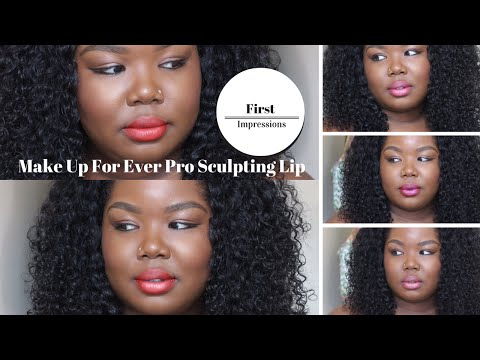 First Impressions Make Up For Ever Pro Sculpting Lip