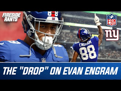 NY Giants: Every Evan Engram DROP From the 2020 Season (Reaction)