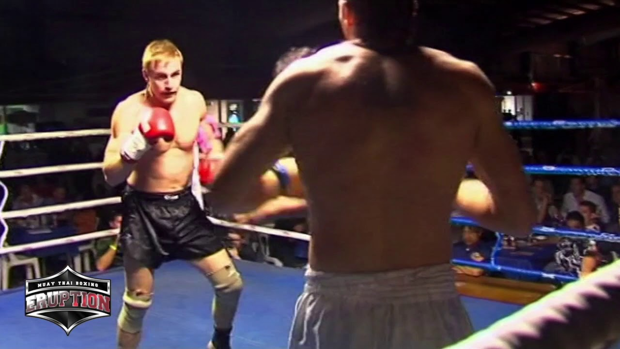 Eruption Muay Thai 3: Chris Johnston Vs Daniel Jones