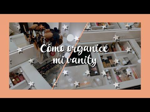 TOUR POR MI VANITY + CÓMO LA ORGANICÉ | Martina
