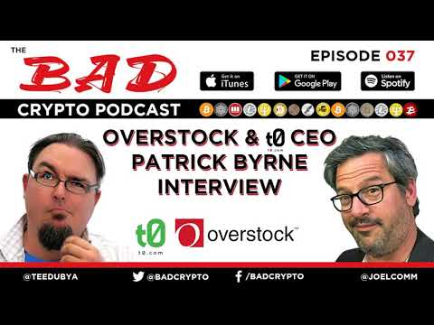 Overstock & t0 CEO Patrick Byrne Interview