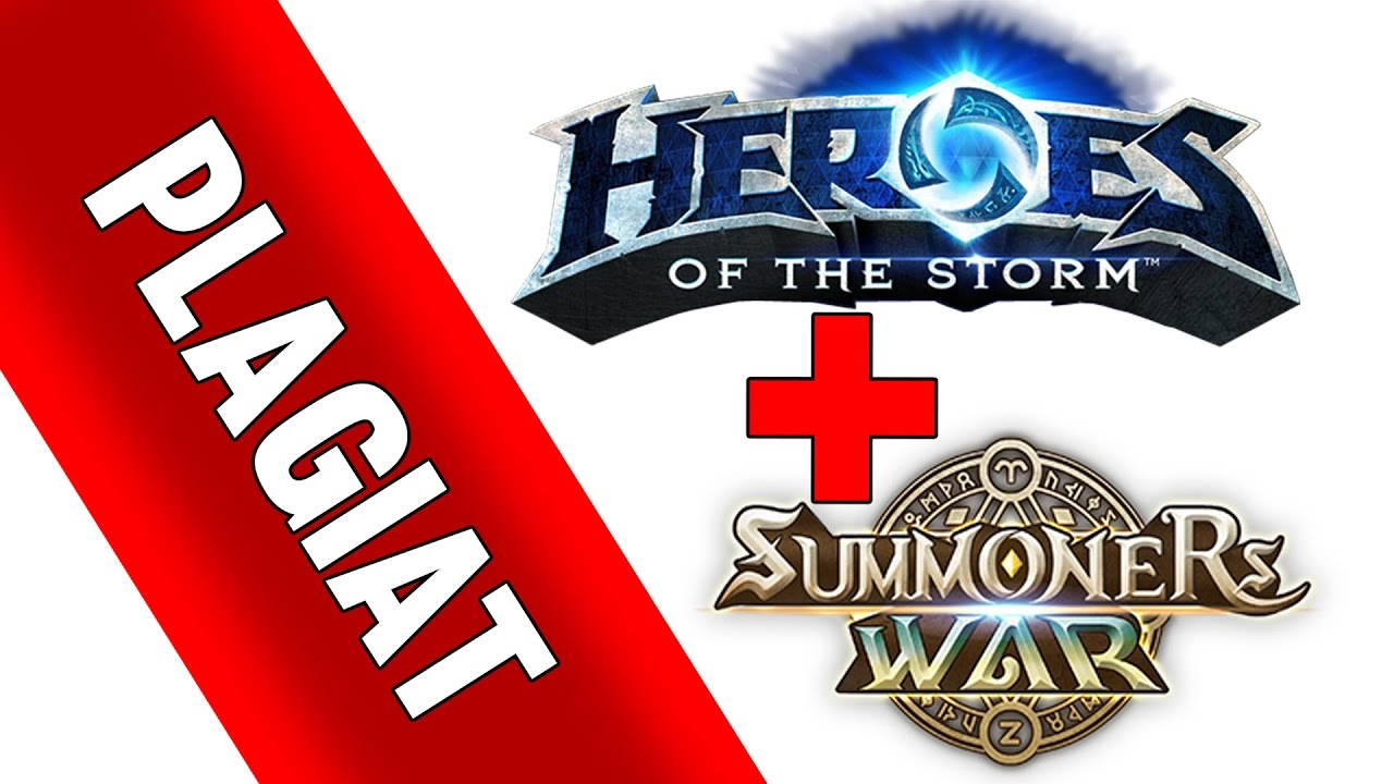 LEAGUE OF STORM HEROES - Summoners War + Heroes Plagiat - gameplay FR