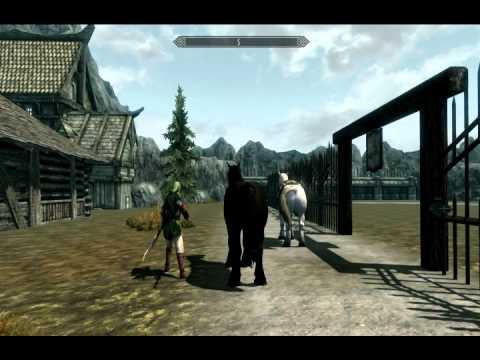 Skyrim Zelda Mods: Land of Hyrule (Gameplay)