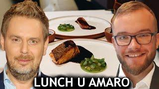 Jak wygląda LUNCH w ATELIER AMARO? Wojciech Modest Amaro i jego restauracja   GASTRO VLOG #275