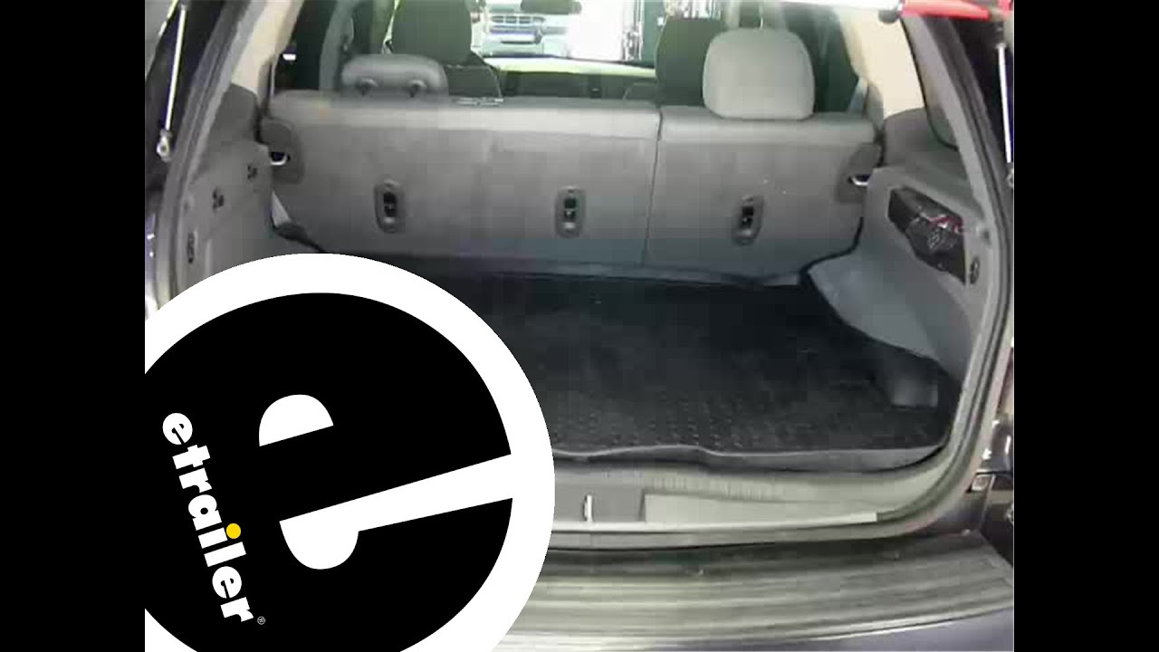 Floor mats jeep grand cherokee 2011 - Review Of The Husky Cargo Floor Liner On A 2006 Jeep Grand Cherokee Etrailer Com