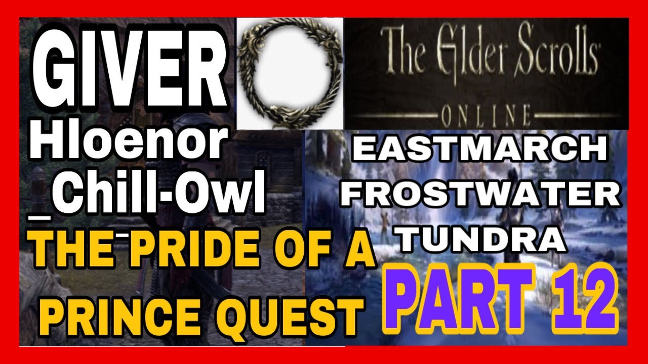 ESO PART 12 HLOENOR CHILL-OWL THE PRIDE OF A PRINCE FROSTWATER TUNDRA,EASTMARCH 10/24 MZQ