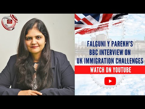 Falguni Laheru, Solicitor, SmartMove2UK talks to Jon Sopel on BBC World  news