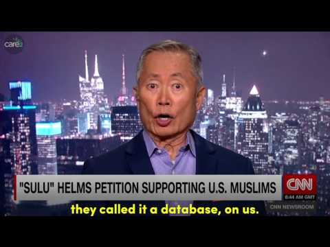 George Takei on Japanese Internment Camp and Petition Against a Muslim Ban