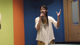 富士はるか(13歳)が神野美伽さんの石狩哀歌を歌ってみました.