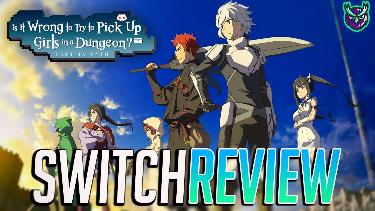 Is It Wrong To Try To Pick Up Girls In A Dungeon? Switch Review - ENGLISH release! (Video Game Video Review)