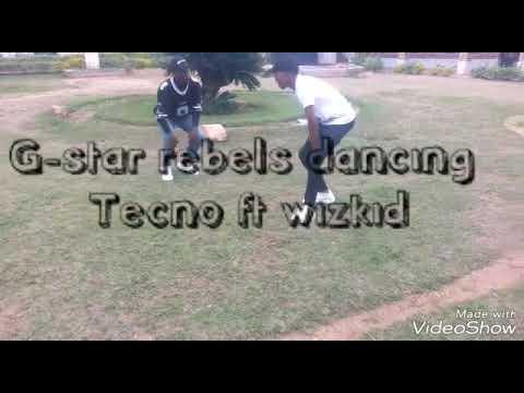 WIZKID ft TEKNO dance by G-star Rebels