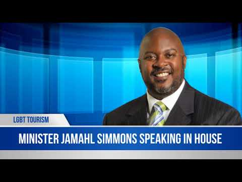 Minister Jamahl Simmons On LGBT Tourism, March 2018