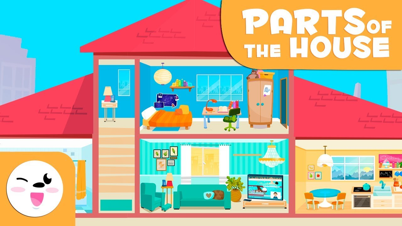 House Vocabulary - Learning the Parts of the Home for kids
